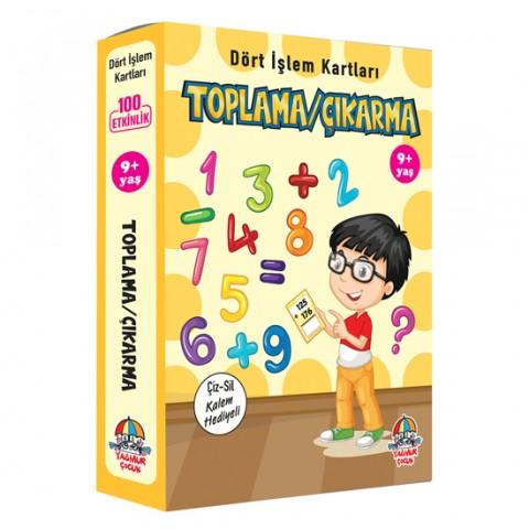 DÖRT İŞLEM KARTLARI / TOPLAMA/ÇIKARMA (9+ yaş)