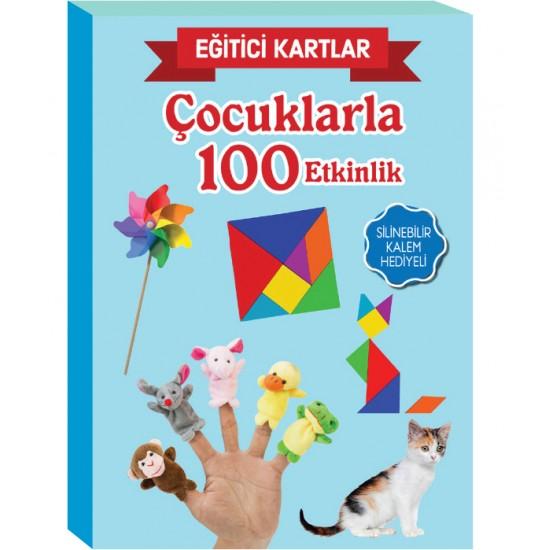 EĞİTİCİ KARTLAR- ÇOCUKLARLA 100 ETKİNLİK