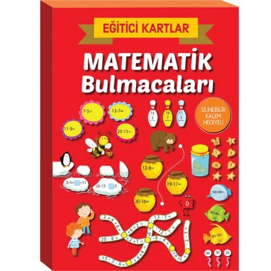 EĞİTİCİ KARTLAR- MATEMATİK BULMACALARI